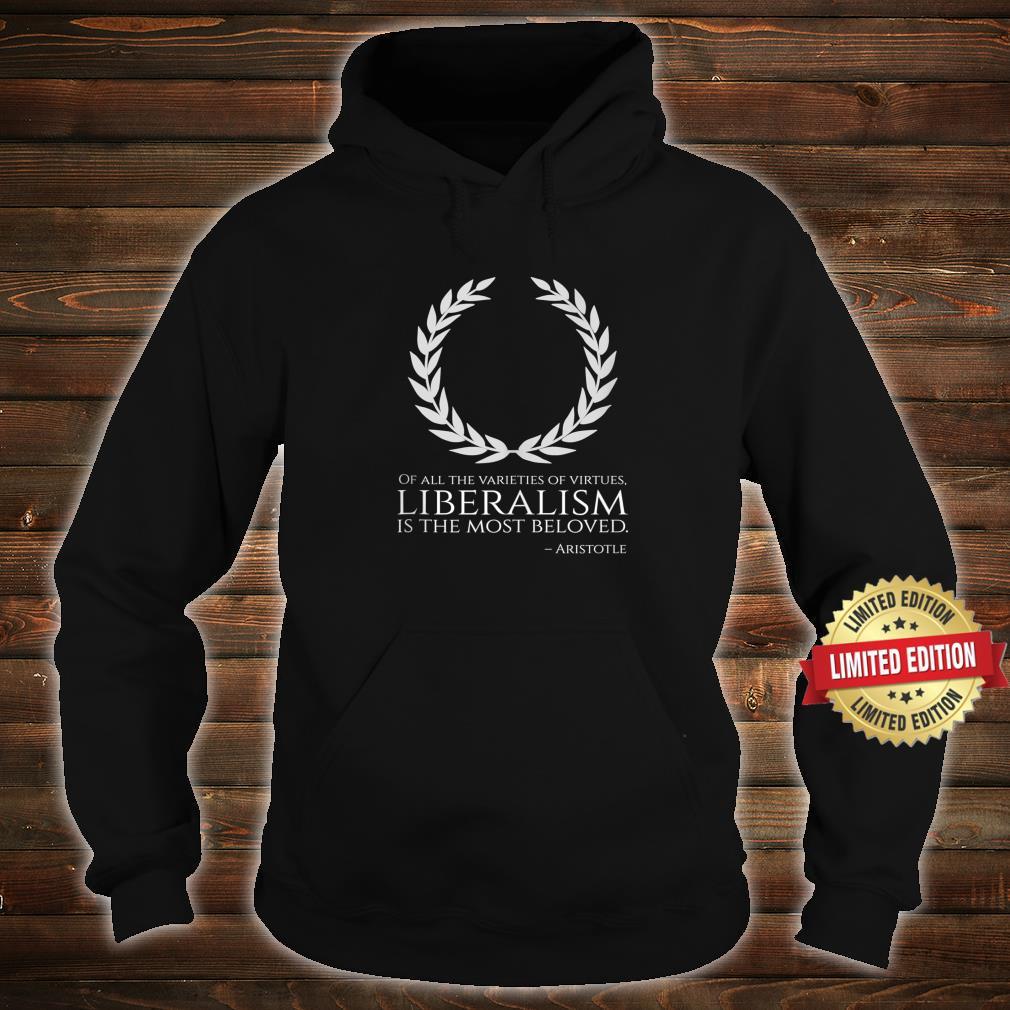 Ancient Greek Philosophy Classical Liberalism Aristotle Shirt hoodie