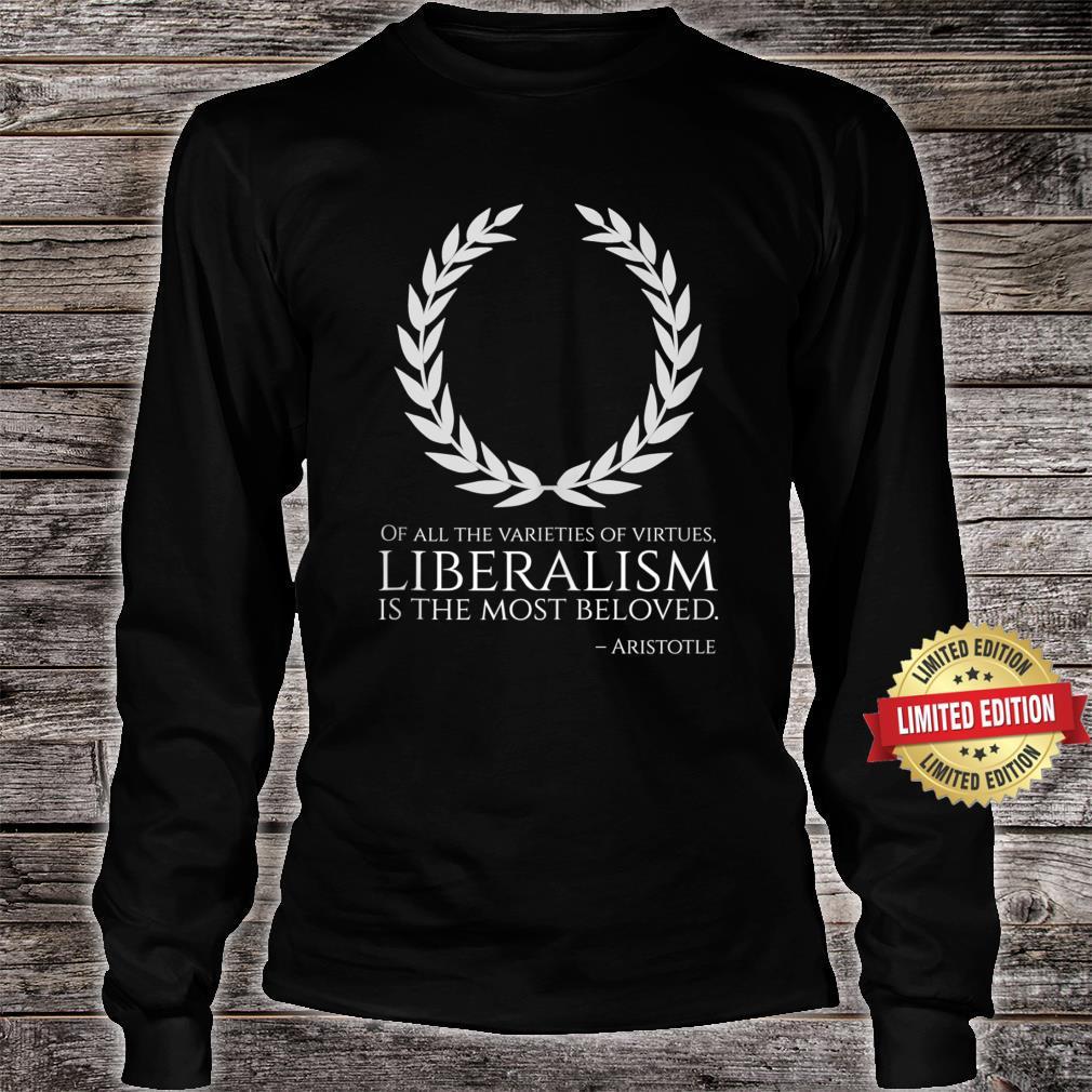 Ancient Greek Philosophy Classical Liberalism Aristotle Shirt long sleeved