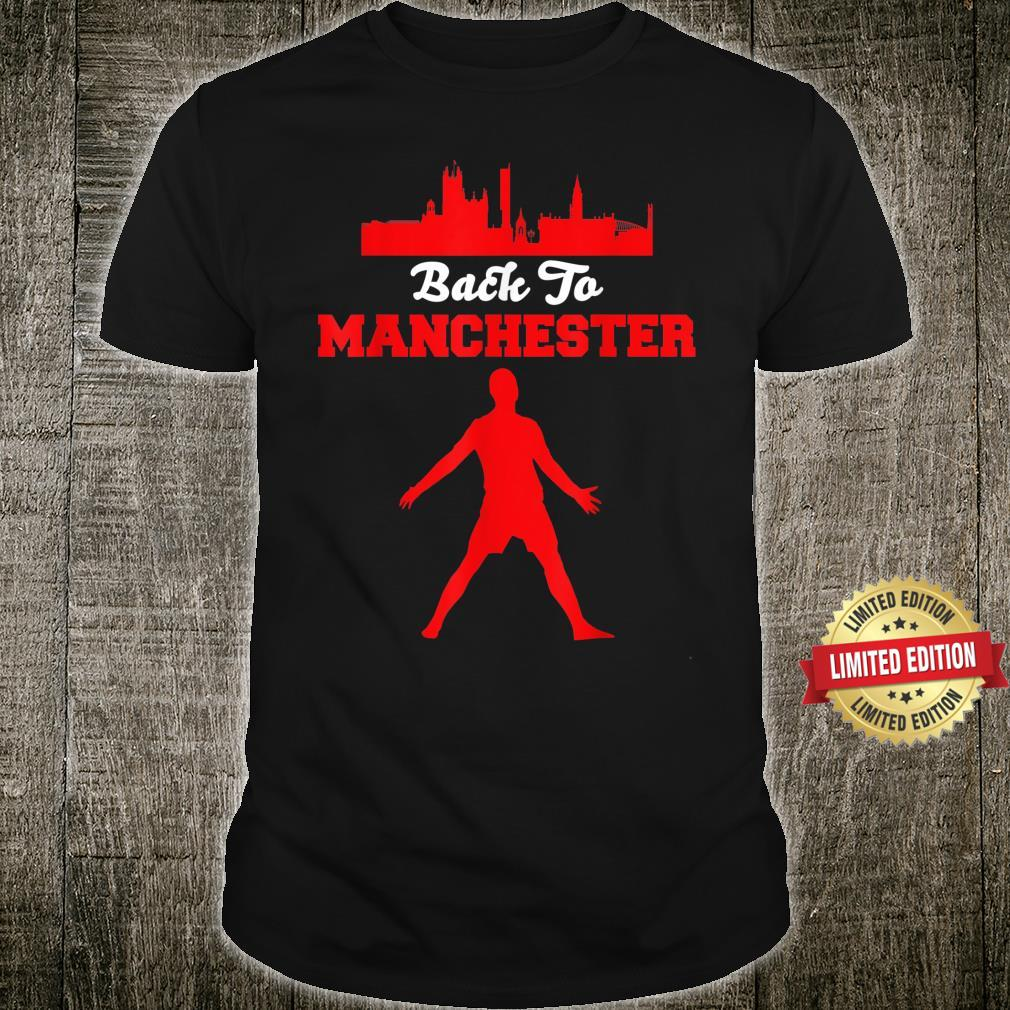 Back To M.anchester United R.onaldo Football Fans No.7 Shirt