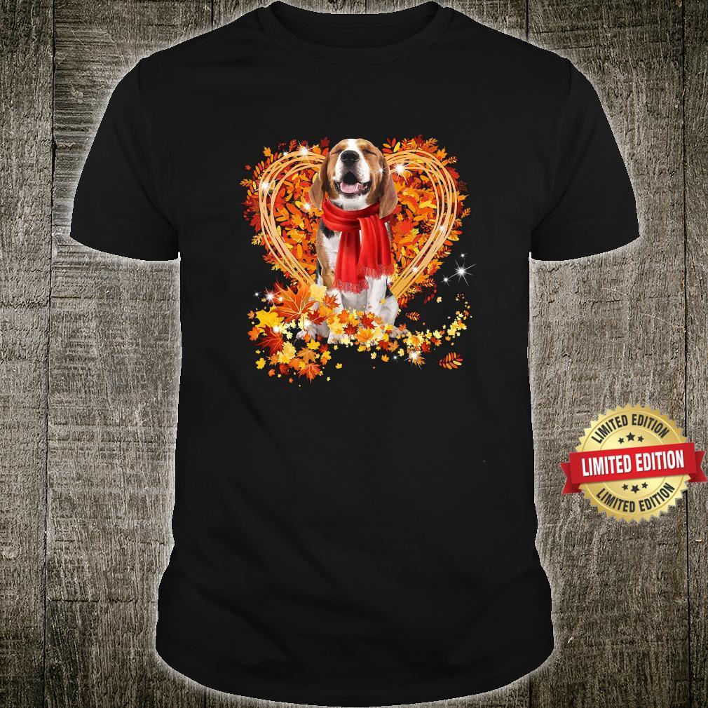 Beagle Love Autumn Shirt