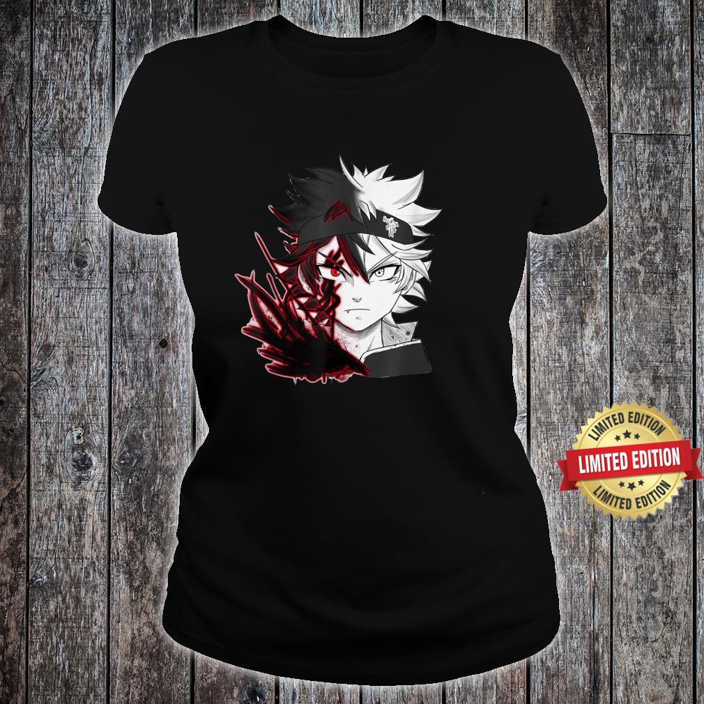 Black Clover Anime Asta Yamis Shirt ladies tee