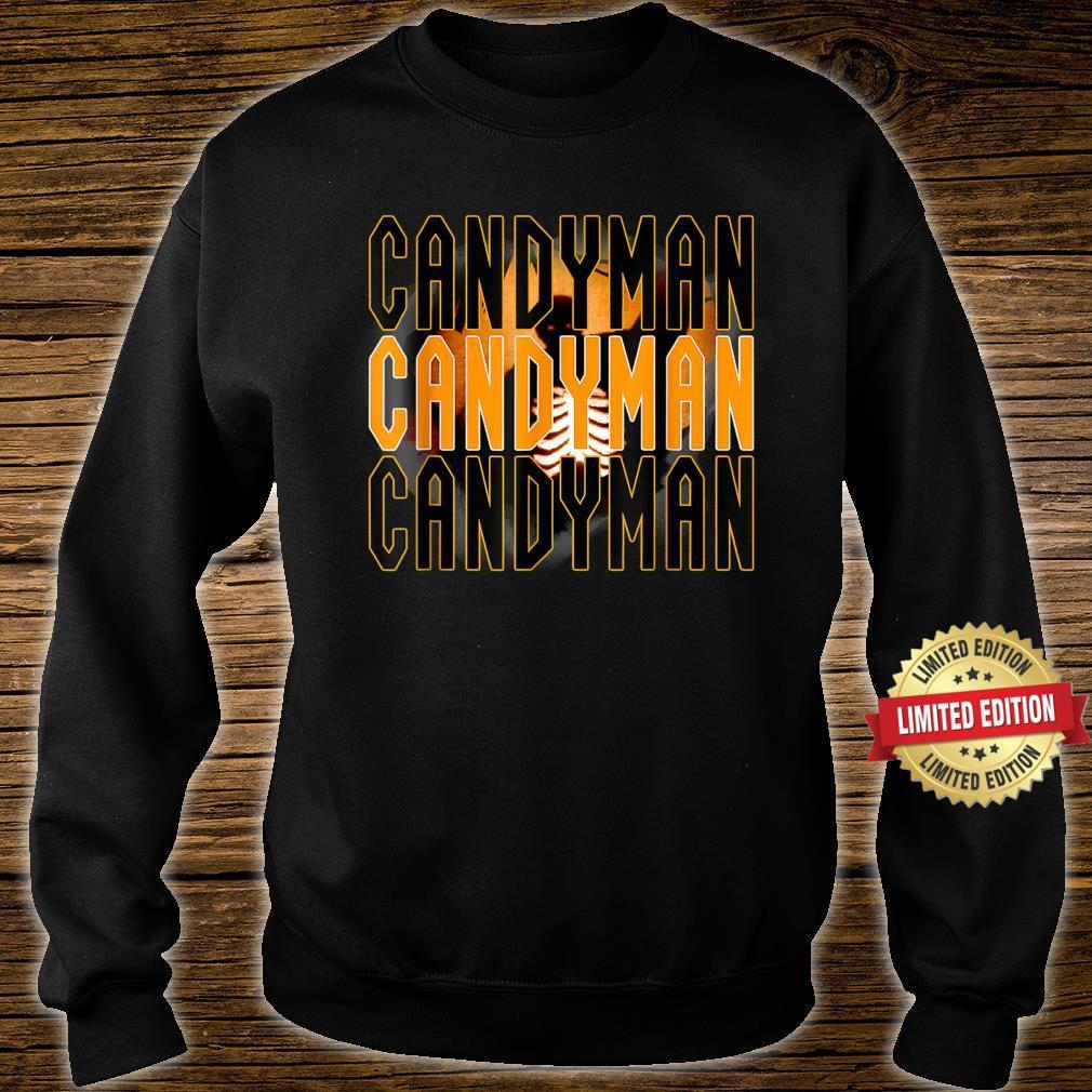 Candy.man Movie, Creepy Secret Halloween Party Yellow Shirt sweater