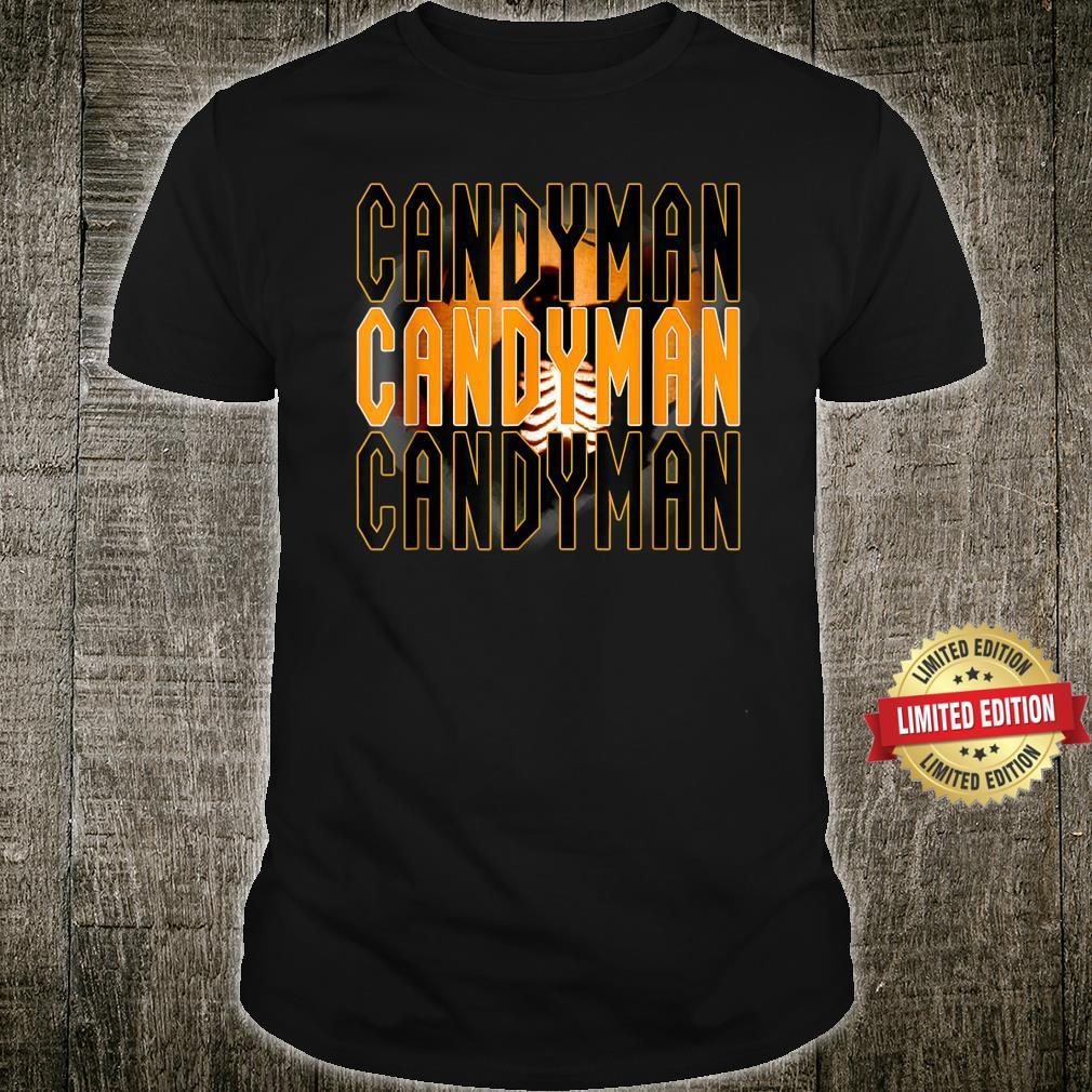 Candy.man Movie, Creepy Secret Halloween Party Yellow Shirt