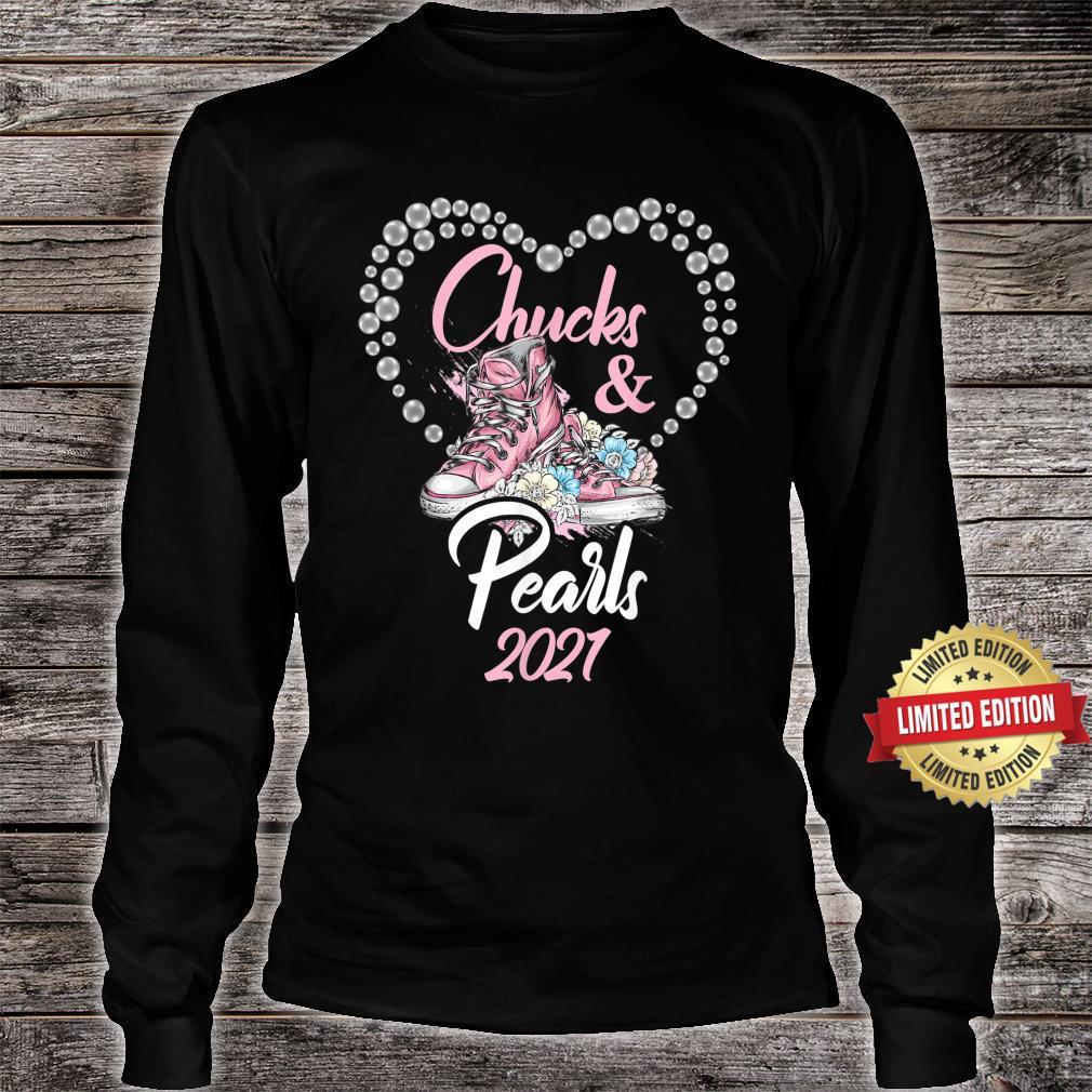 Chucks and Pearls 2021 Shirt long sleeved
