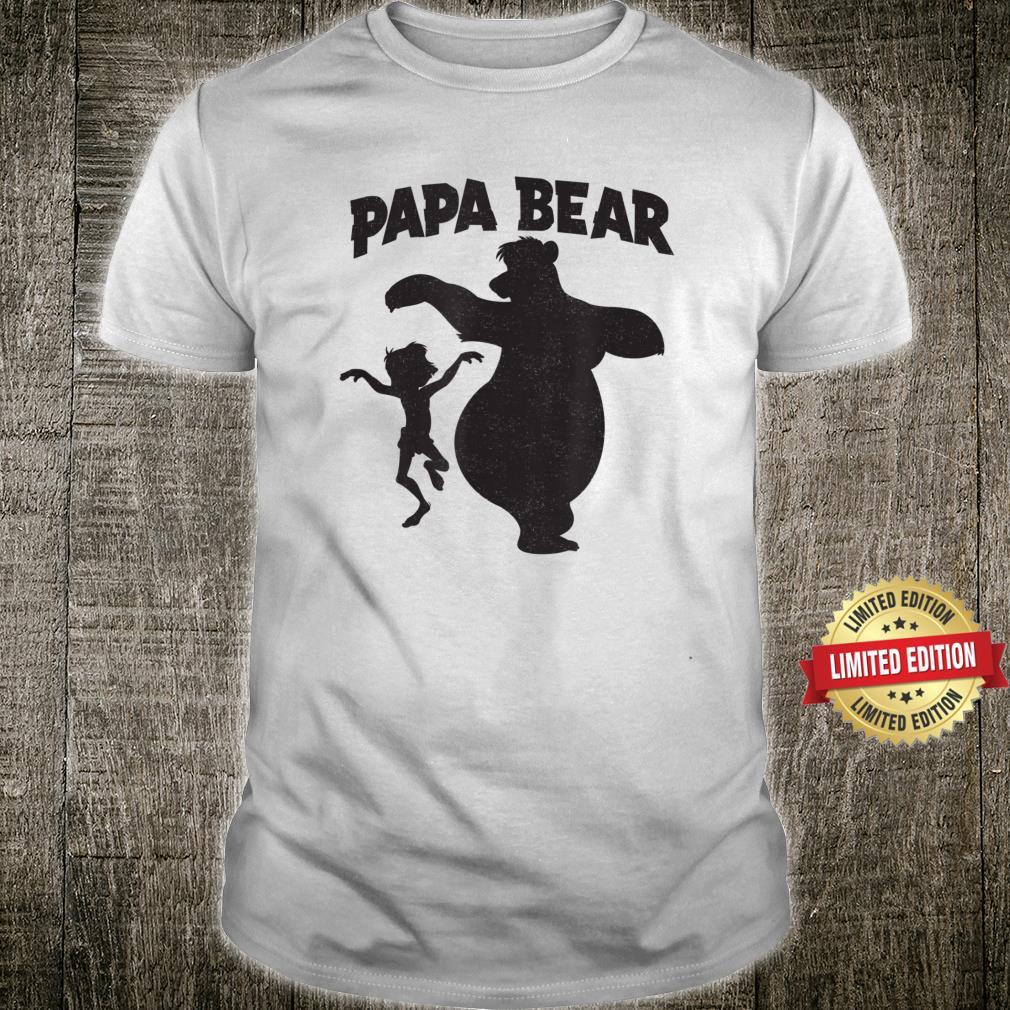 Disney Jungle Book Papa Bear Father's Day Shirt