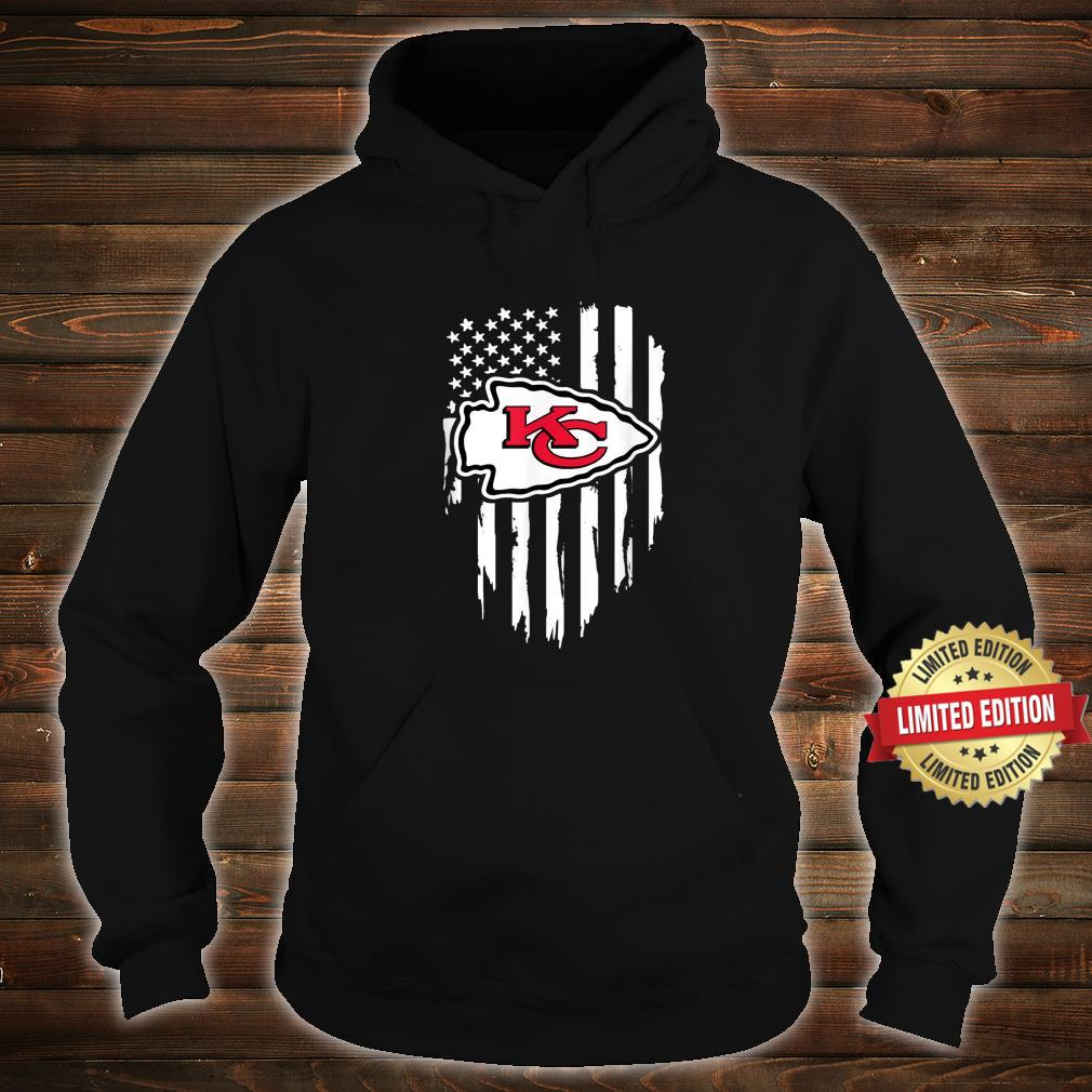 Kansas City Jersey Football Shirt Chief Flag Usa Shirt hoodie