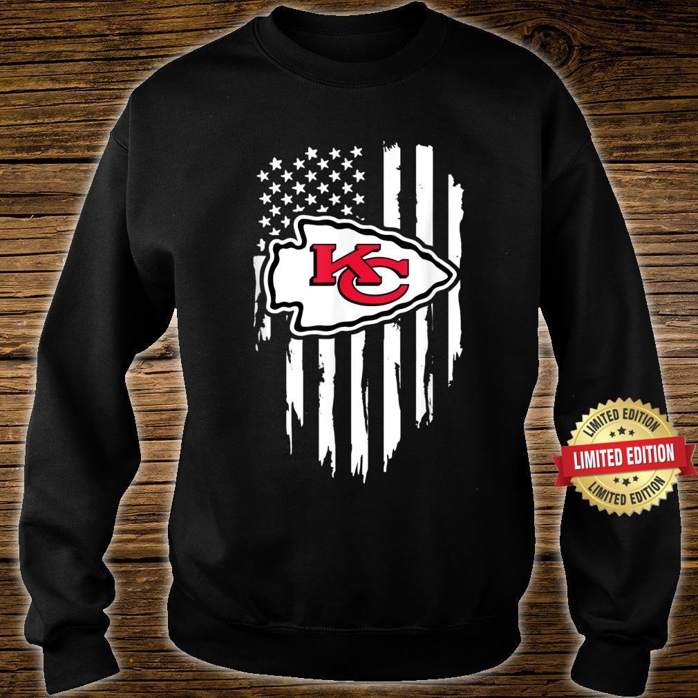 Kansas City Jersey Football Shirt Chief Flag Usa Shirt sweater
