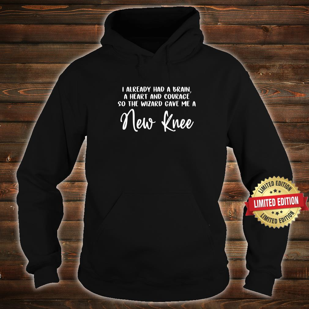 Knee Surgery Completed Knee Replacement Recovery Shirt hoodie