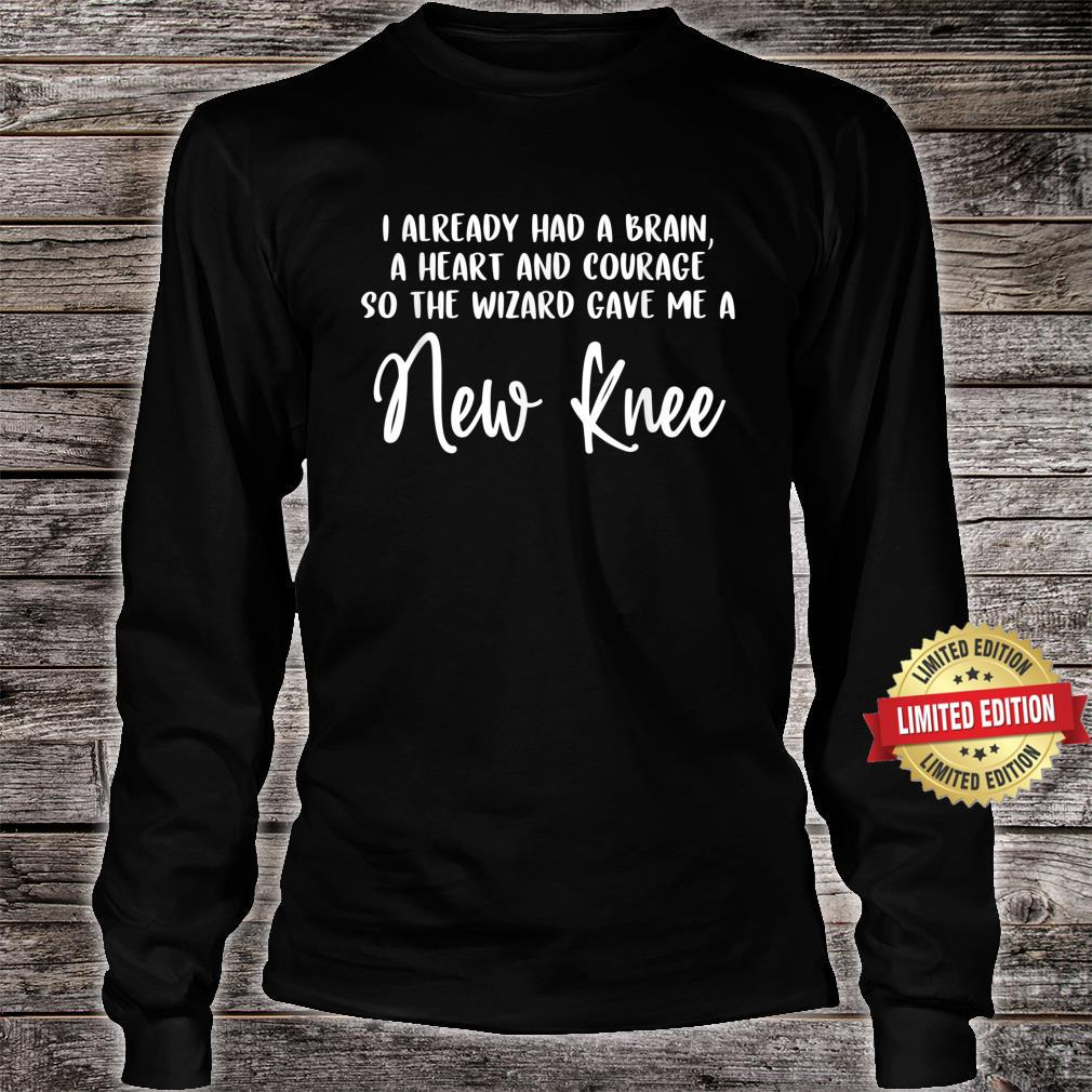 Knee Surgery Completed Knee Replacement Recovery Shirt long sleeved