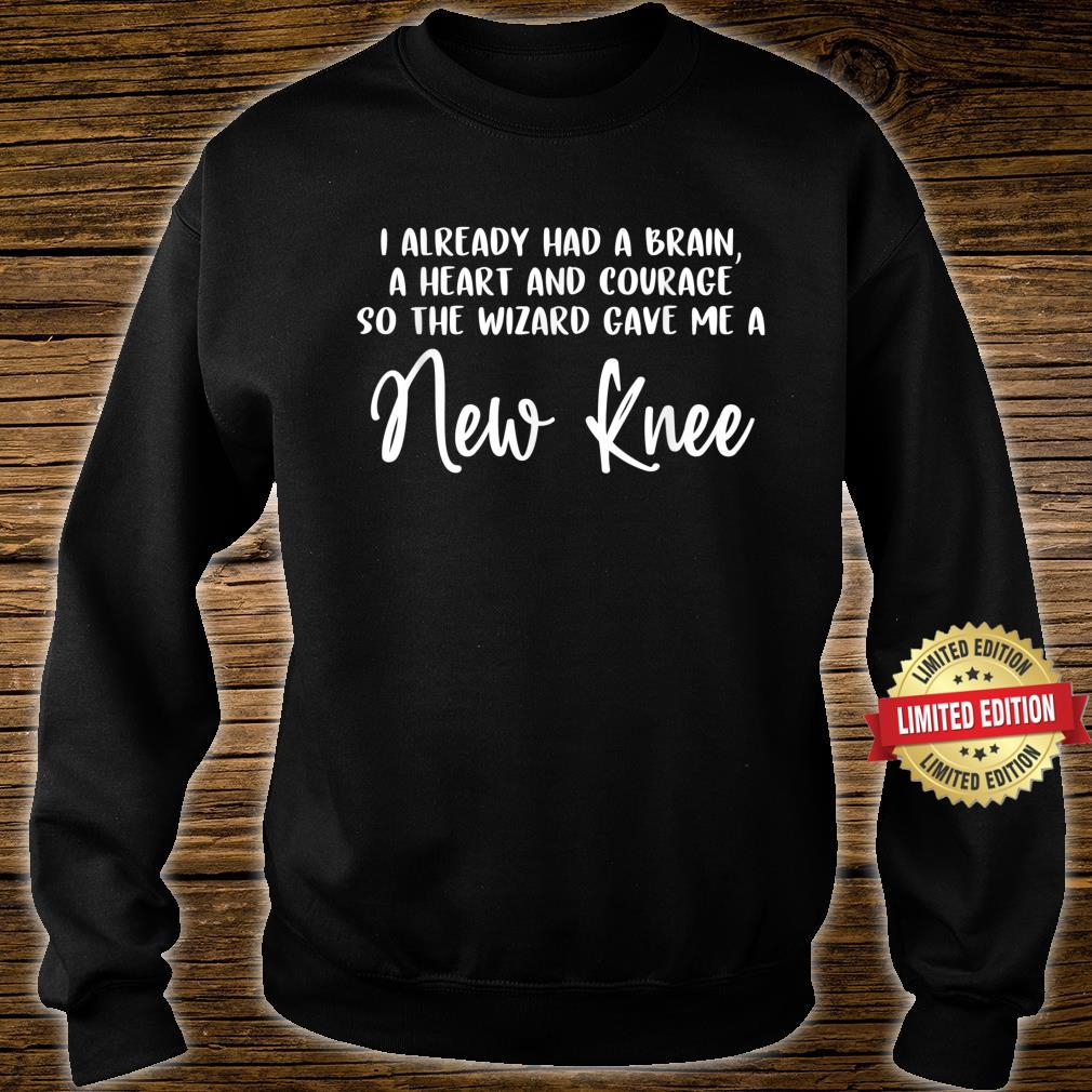 Knee Surgery Completed Knee Replacement Recovery Shirt sweater