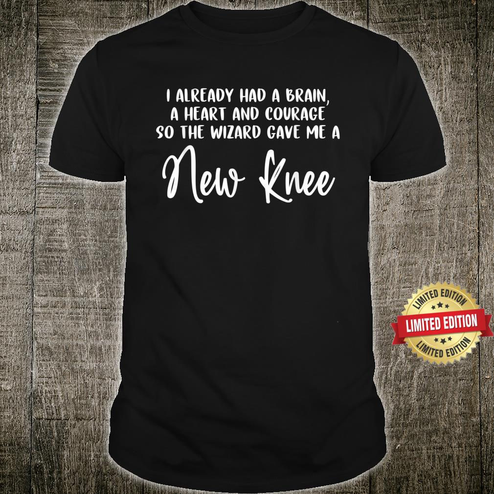 Knee Surgery Completed Knee Replacement Recovery Shirt