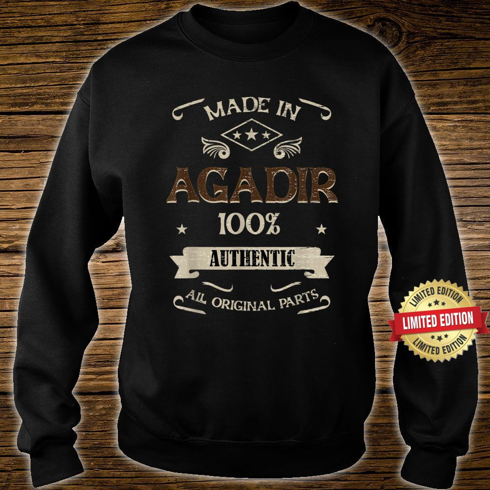 Made in AGADIR Morocco is my Home Shirt sweater