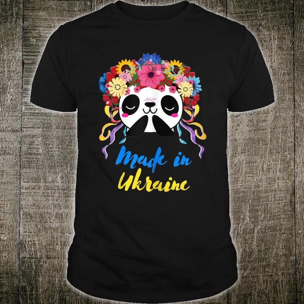 Made in Ukraine Panda Shirt