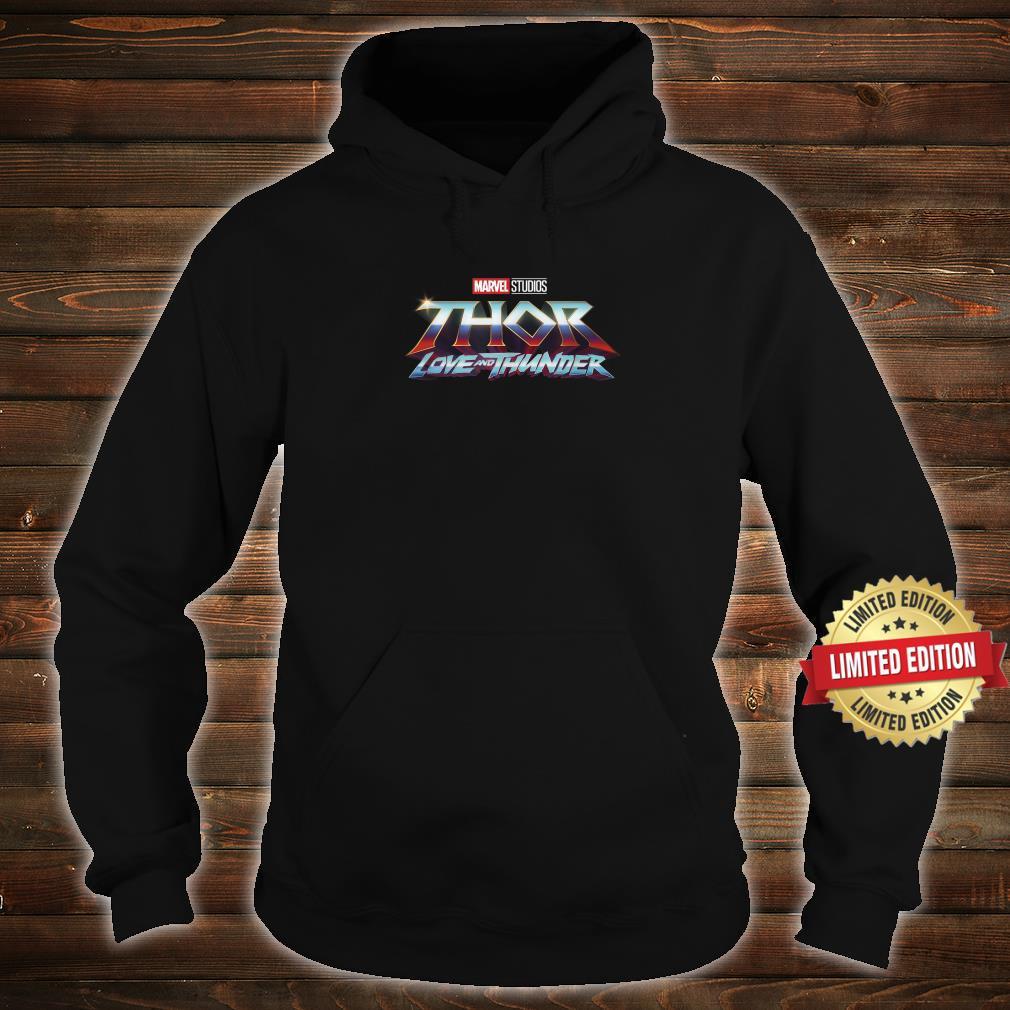 Marvel Thor Love And Thunder Logo Shirt hoodie