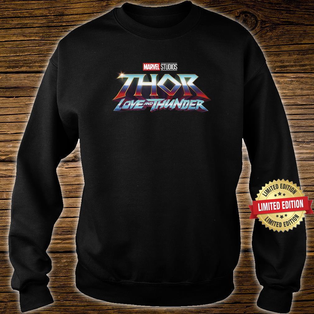 Marvel Thor Love And Thunder Logo Shirt sweater
