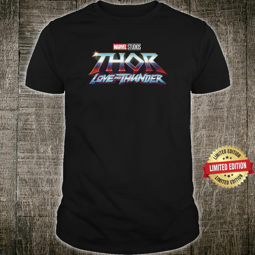 Marvel Thor Love And Thunder Logo Shirt