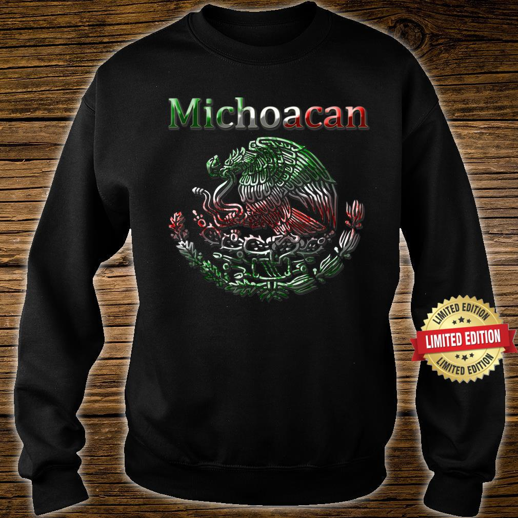 Michoacan Morelia Mexican colt flag Mexico Shirt sweater