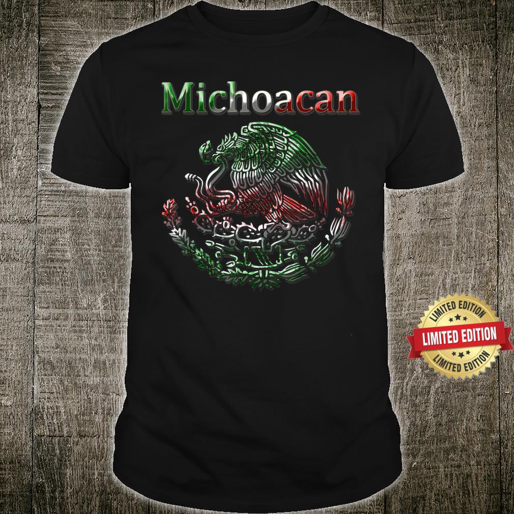Michoacan Morelia Mexican colt flag Mexico Shirt