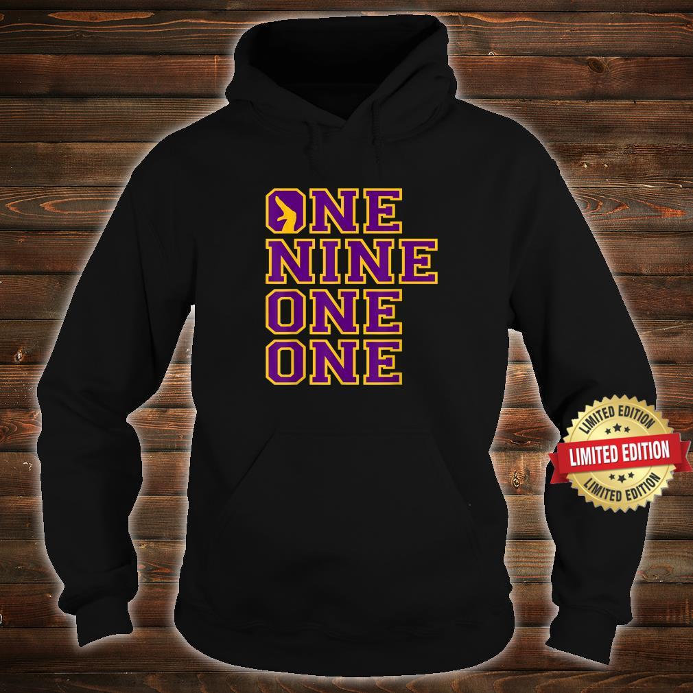 Omega1911 One Nine Hand Sign PsiPhi One One Shirt hoodie