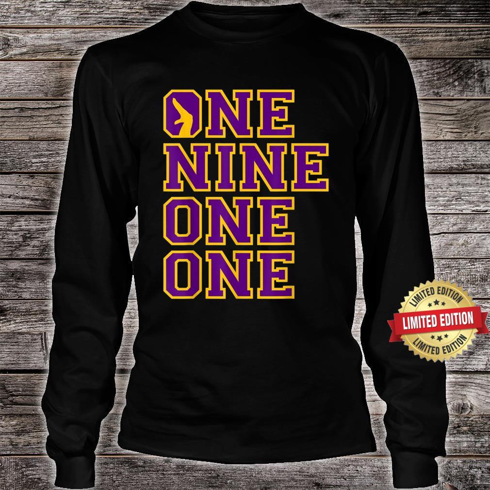 Omega1911 One Nine Hand Sign PsiPhi One One Shirt long sleeved