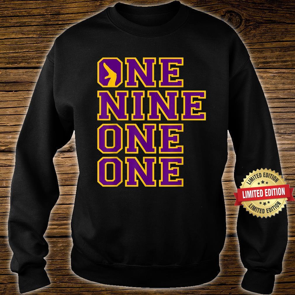 Omega1911 One Nine Hand Sign PsiPhi One One Shirt sweater