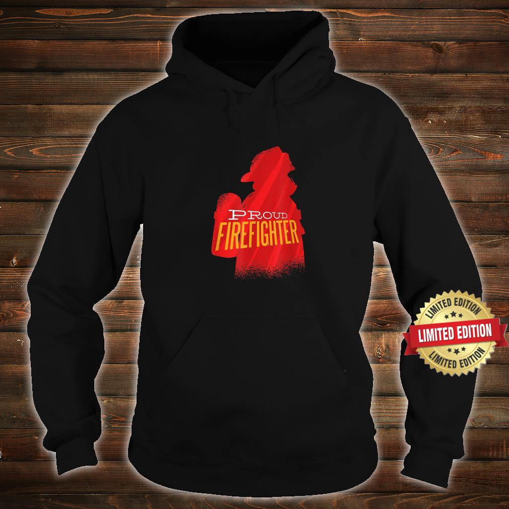 Proud firefighter Retro firefighter Shirt hoodie