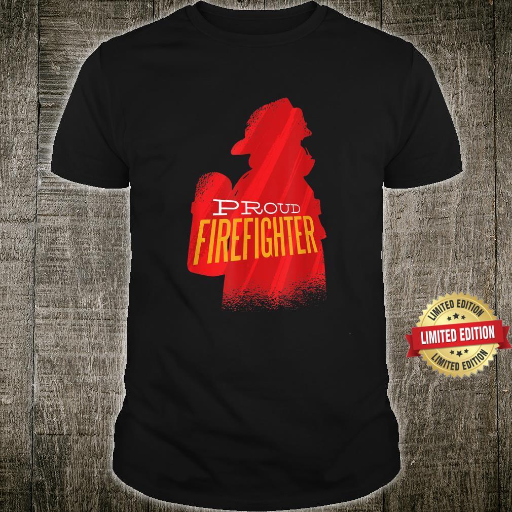 Proud firefighter Retro firefighter Shirt