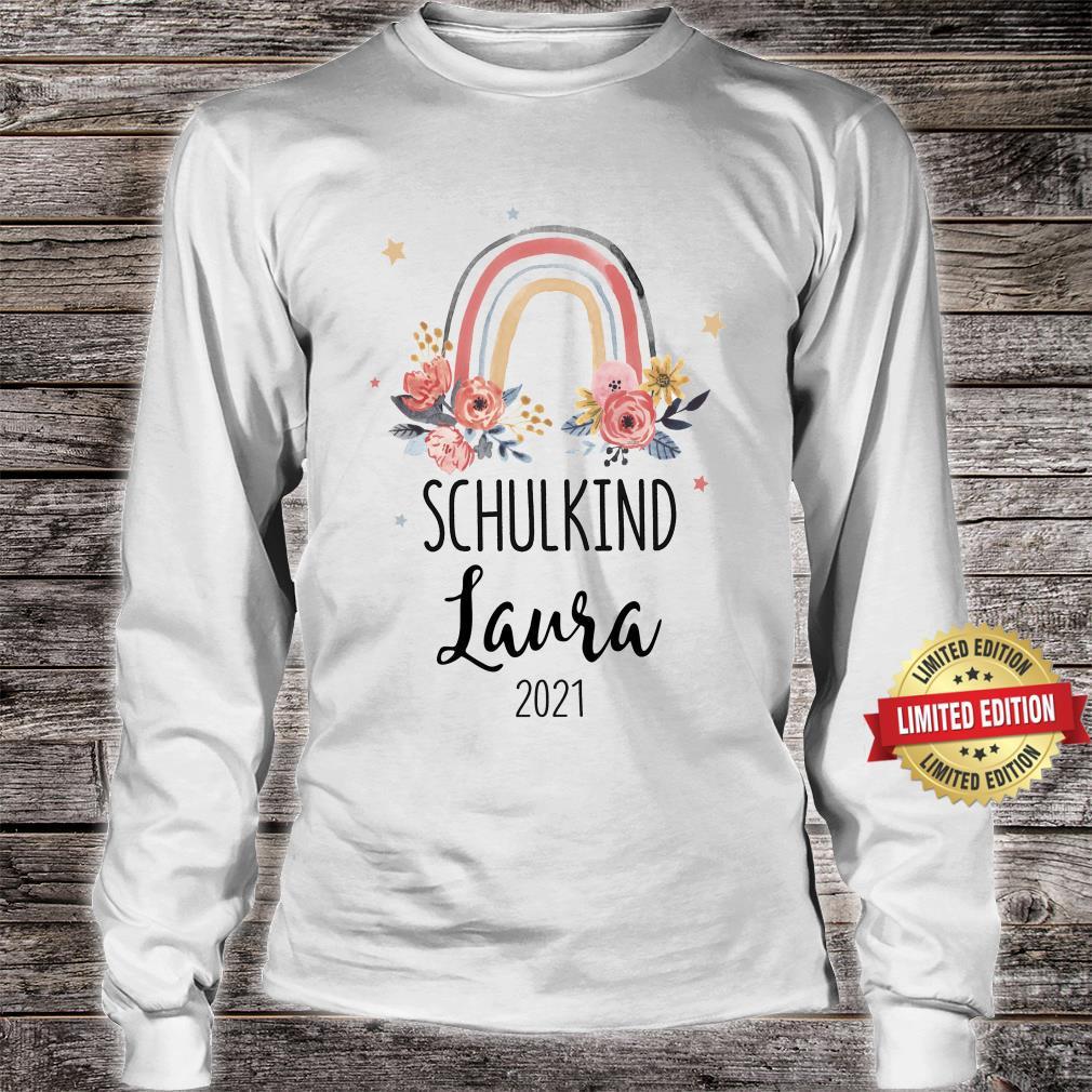 Schulkind 2021 Mädchen Shirt long sleeved