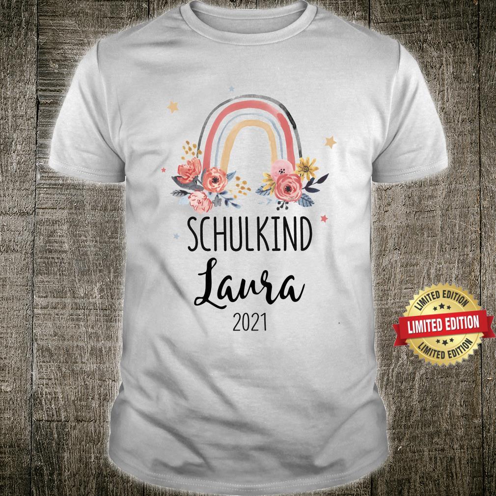 Schulkind 2021 Mädchen Shirt