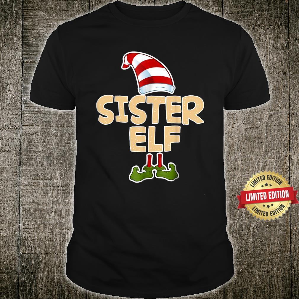 Sister Elf Shirt Merry Christmas Costume Shirt