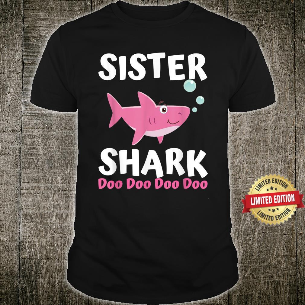 Sister Shark Doo Doo Shirt Matching Family Shark Set Shirt
