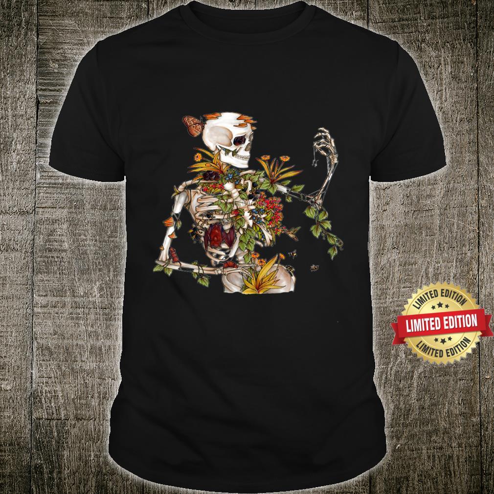 Skeleton Skull's Bones and Botany Shirt