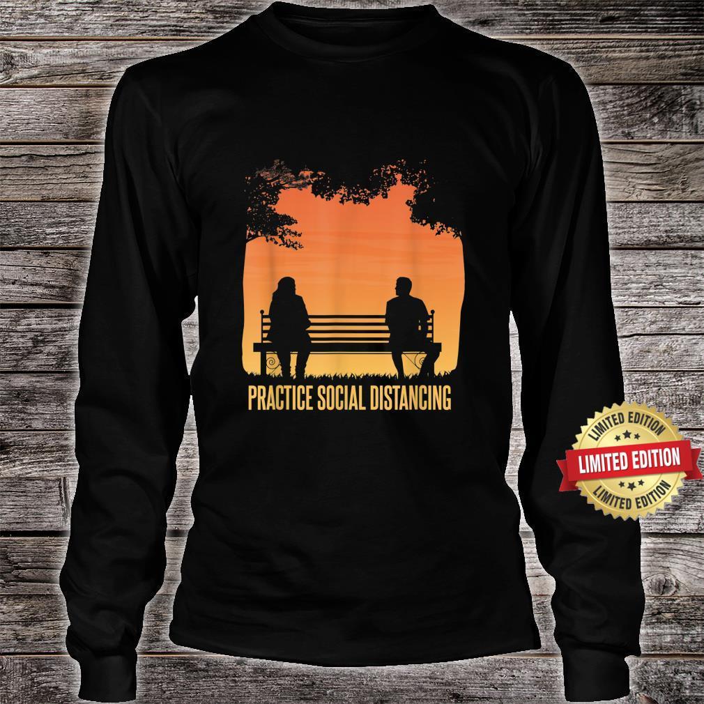 Social Distancing Retro Social Distancing Shirt long sleeved