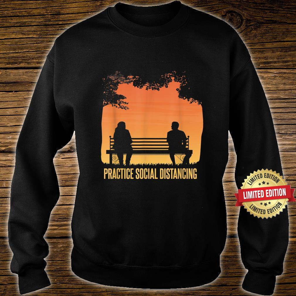 Social Distancing Retro Social Distancing Shirt sweater