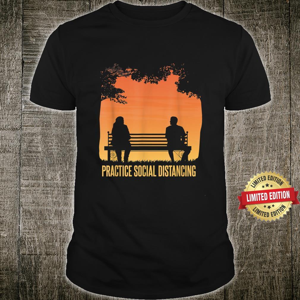 Social Distancing Retro Social Distancing Shirt