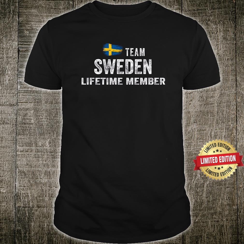 TEAM SWEDEN LIFETIME MEMBER SHIRT