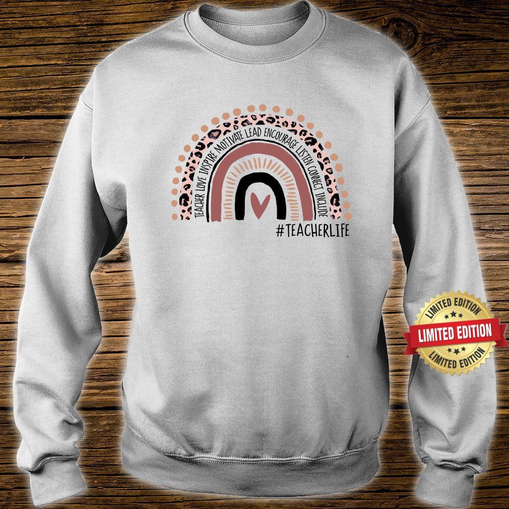 Teachers Life Rainbow Teaching, Kindergarten Teacher Shirt sweater