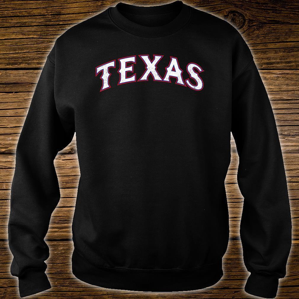 Texas Baseball TX Vintage Distressed Gameday Ranger Shirt sweater