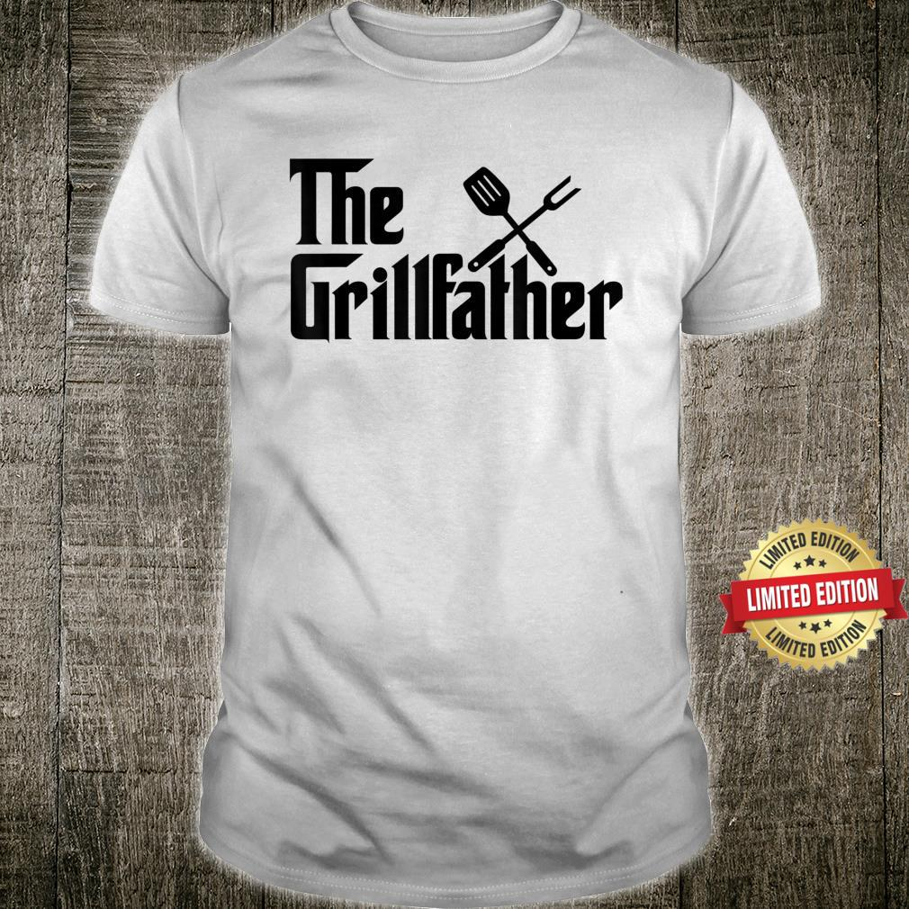 The Grillfather BBQ Grill & Smoker Barbecue Chef Shirt