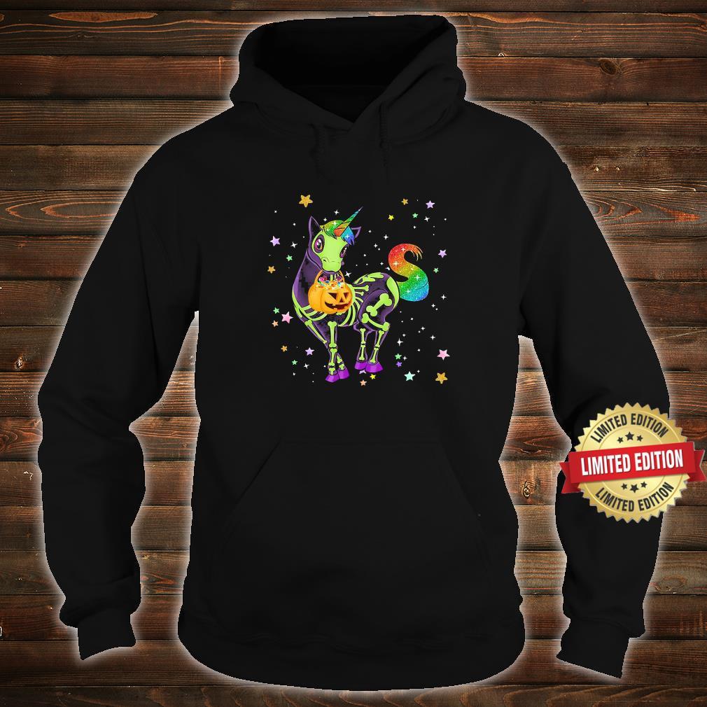 Unicorns Pumkin Halloween Shirt hoodie