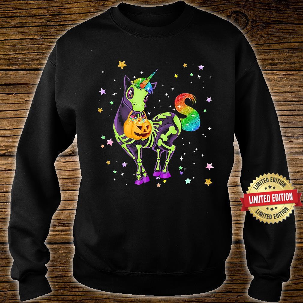 Unicorns Pumkin Halloween Shirt sweater