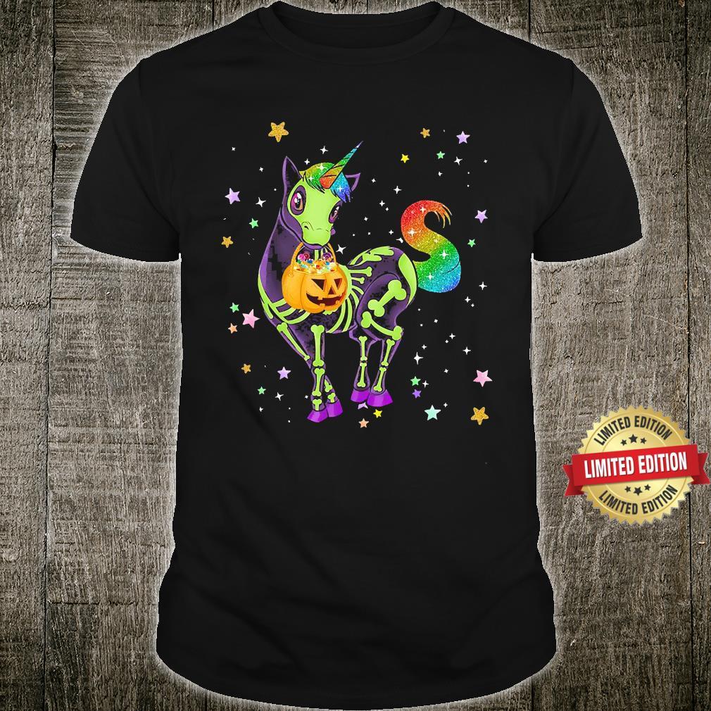 Unicorns Pumkin Halloween Shirt