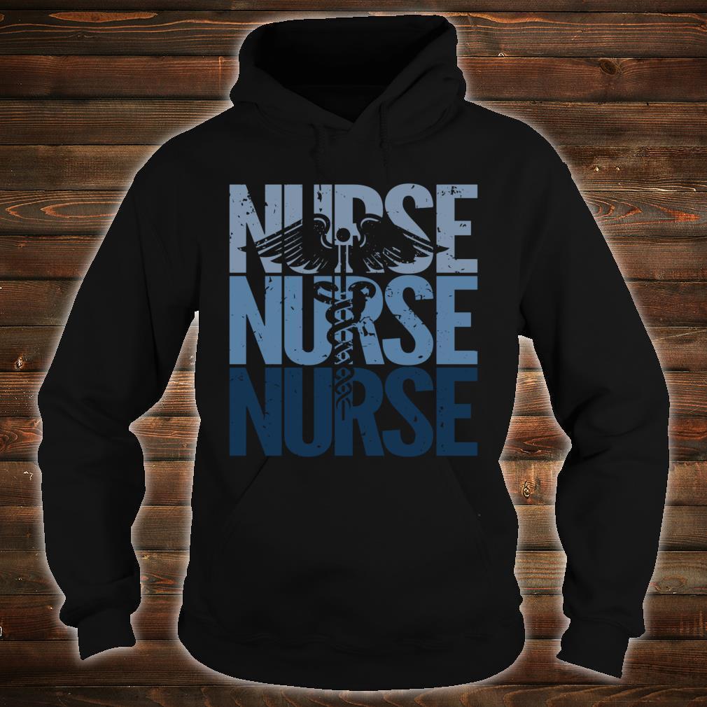 Vintage Retro Nurse Proud to be a Nurse Shirt hoodie