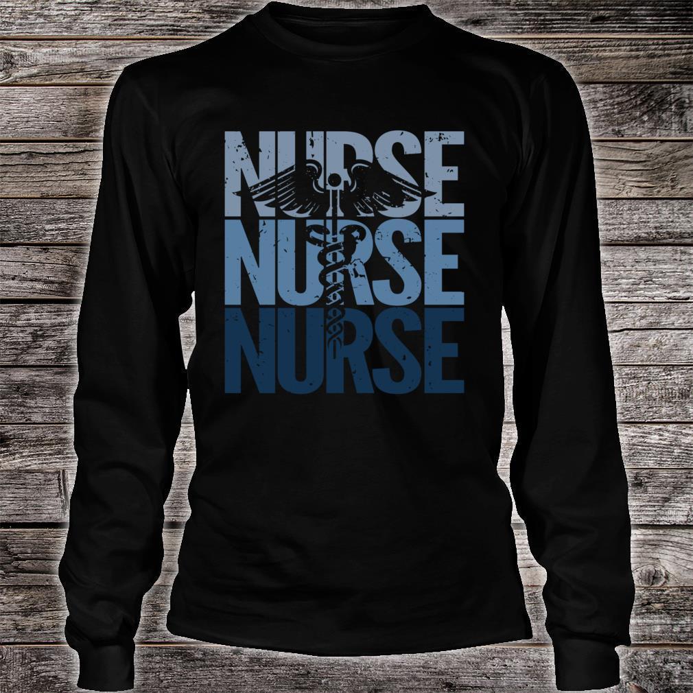Vintage Retro Nurse Proud to be a Nurse Shirt long sleeved