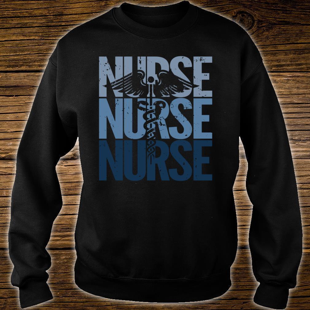 Vintage Retro Nurse Proud to be a Nurse Shirt sweater