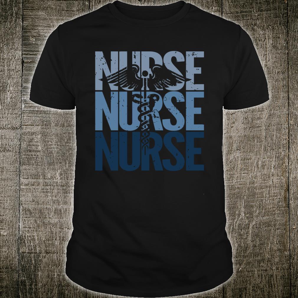 Vintage Retro Nurse Proud to be a Nurse Shirt