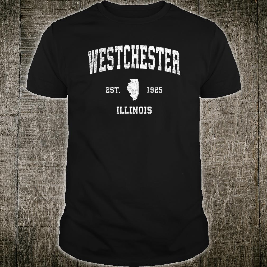 Westchester Illinois IL Vintage Athletic Sports Shirt