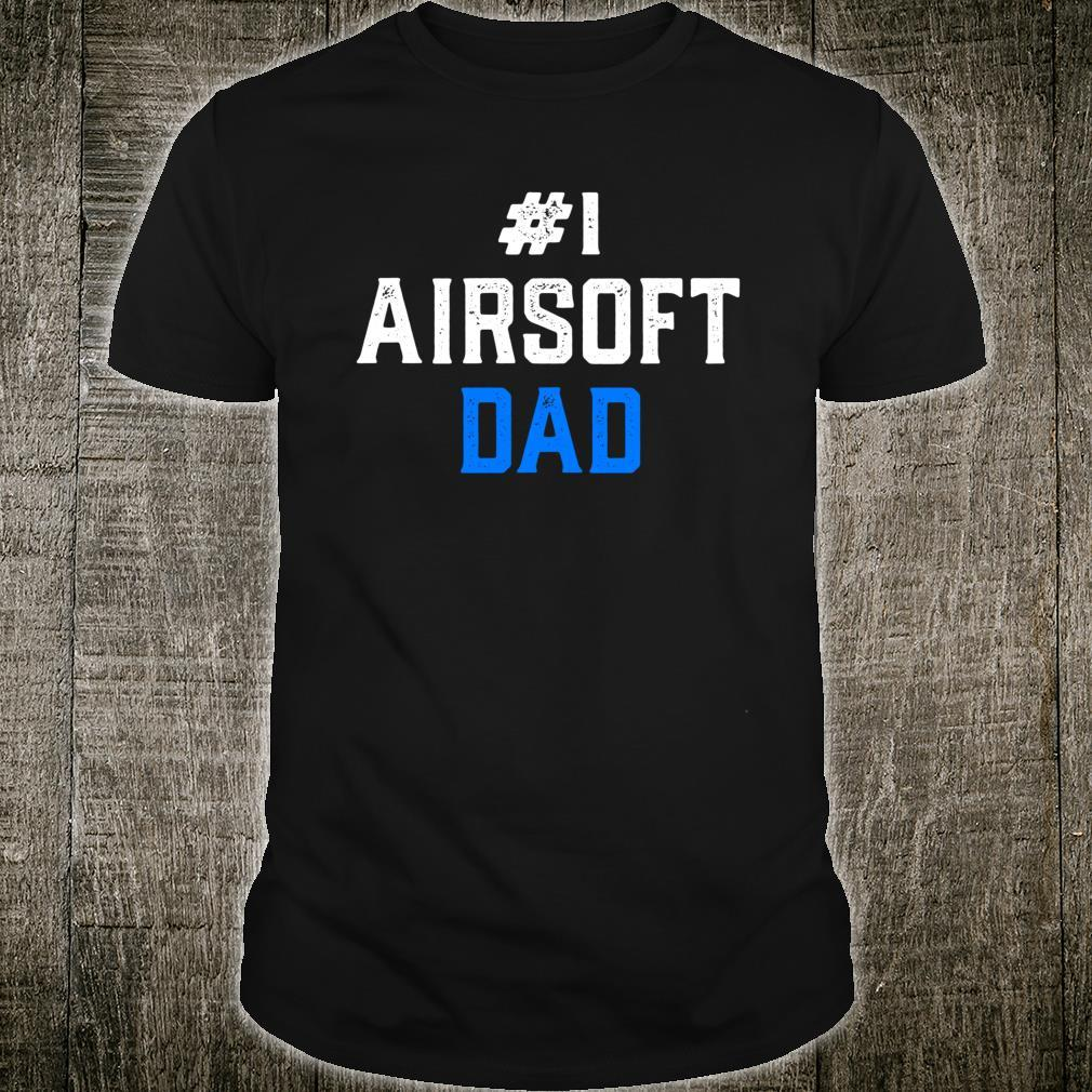 Airsoft Player Dads Team Sport Competition Shirt
