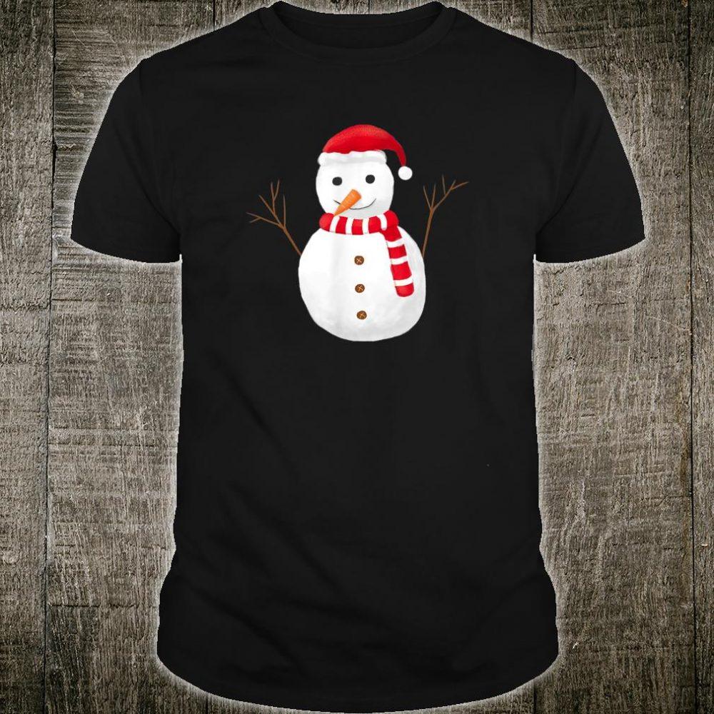Cute Snowmen Cartoon Shirt