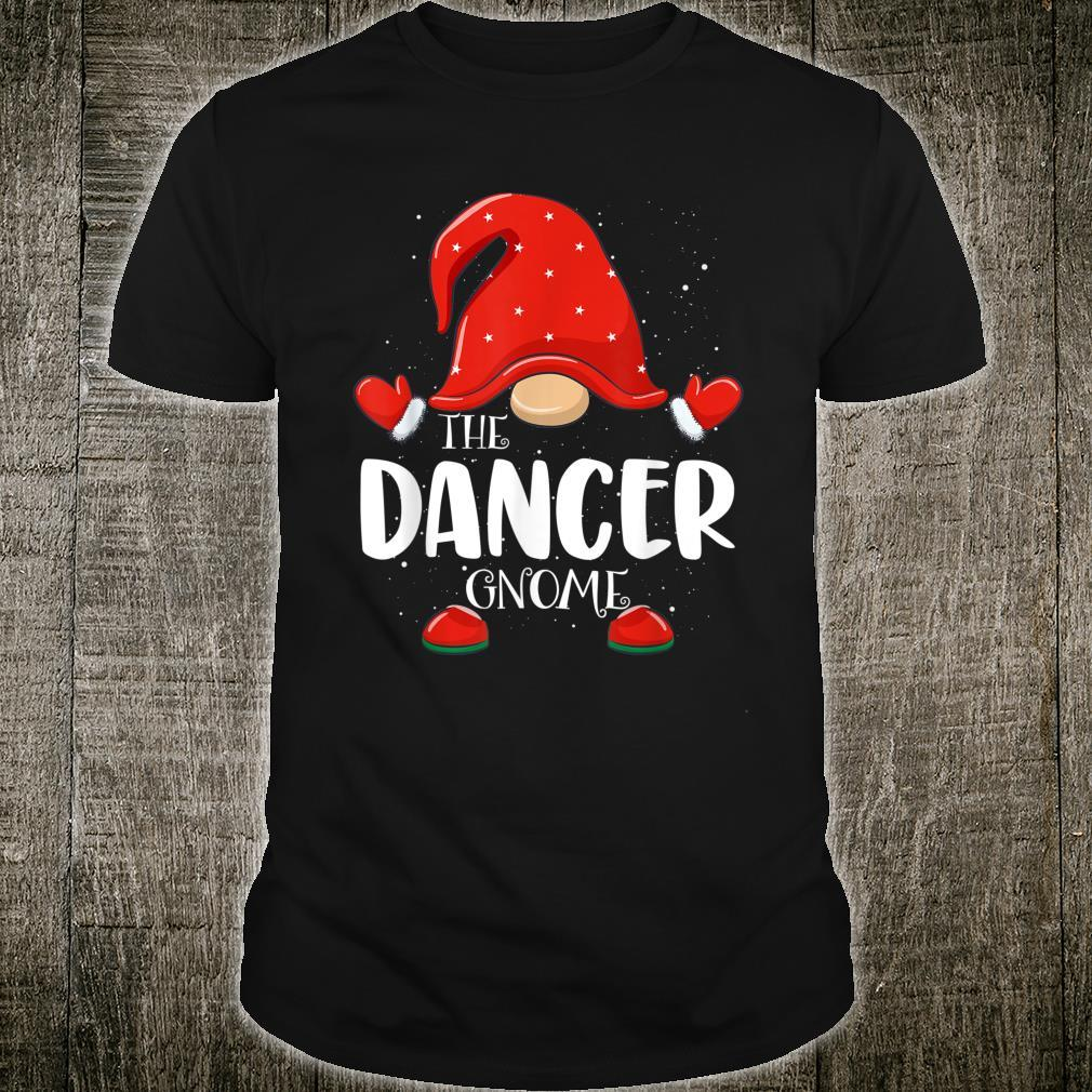 Dancer Gnome Matching Family Group Christmas Pajama Shirt